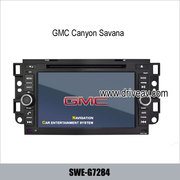 GMC Canyon Savana Sonoma OEM stereo DVD player GPS navigation TV