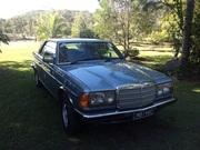 Mercedes-Benz 280CE 1980 W123 Coupe  Blue