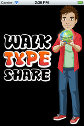 Free Download Android/IOS Application – Walk Type Share