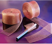 Knitted Copper Cleaning Mesh Is Used for Cleaning Application,  and Its