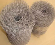 Stainless Steel Knitted Mesh with various sizes for engineering